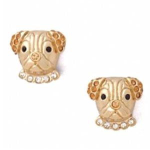 Adorable 😍 NWOT kate spade ♠️ puppy 🐶 studs!